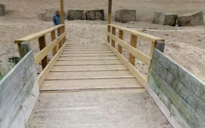 Important Notice – The (not a disabled access) ramp is fixed but use with care